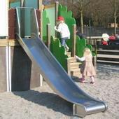 Glijbaan rvs voor speeltoestellen 200cm