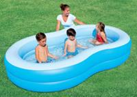 Bestway 54117 Family Pool Big Lagoon 262x157x46cm 9868