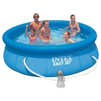 Intex Easy Set Pool 128122GN, Ø 305cm x 76cm, Schwimmbad