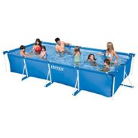 "Intex Frame Swimming Pool Set Serie ""Family IV"", Inkl. Sandfilteranlage"