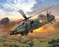 Revell Ah-64a Apache  Schaal 1:100