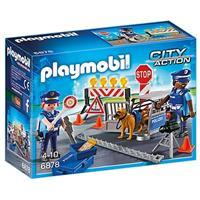 Playmobil City Action - Politie wegversperring