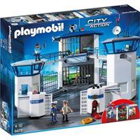 Playmobil City Action - Politie commandocentrum met gevangen