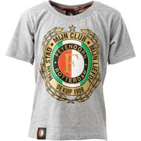 Feyenoord T-shirt F-logo HW15 Grijs, Maat 116