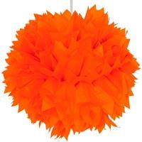 Pompom Oranje 30cm, - oranje