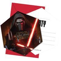 Star Wars VII uitnodigingen set