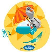 folat Disney Frozen Olaf uitnodigingen - 6 stuks