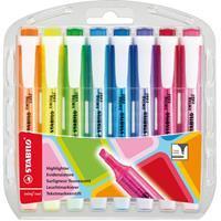 stabilo markeerstift Swing Cool, blister van 8 stuks in geassorteerde kleuren