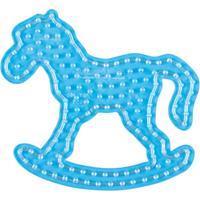 Hama Beads Strijkkralenbordje Maxi - Hobbelpaard