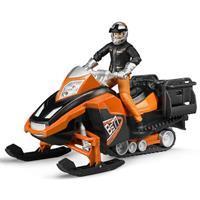 Bruder Sneeuwscooter met bestuurder en accessoires