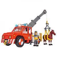 Brandweerman Sam - Phoenix met figuur en paard
