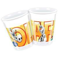 folat Disney Frozen Olaf Bekers 8st.