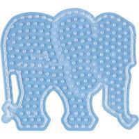 Hama Beads Strijkkralenbordje Maxi - Olifant