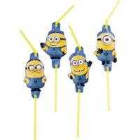 Amscan - Minions Straws 8 Pieces (997975)