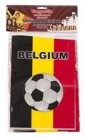 België Vlaggenlijn 10 meter 20x30cm zwart/geel/rood