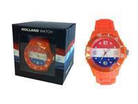 Hollandwatch Horloge Oranje Medium