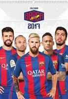 FC Barcelona Kalender barcelona 2017: 40x30 cm