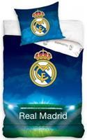 Real Madrid dekbedovertrek Bernabéu 140 x 200 cm multicolor