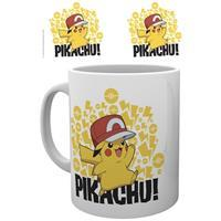 Hole In The Wall Pokemon Mug Ash Hat Pikachu
