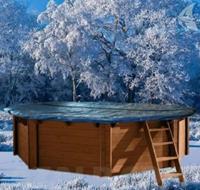 Winter - Afdekzeil - 640 x 400 cm - Ovaal