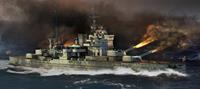 Trumpeter 1/700 HMS Queen Elizabeth 1941