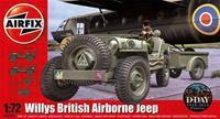 Airfix 1/72 British Airborne Jeep