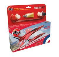 Airfix 1/72 Raf Red Arrows Gnat