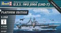 Trumpeter 1/350 USS IWO JIMA LHD-7