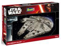Star Wars Episode VII Model Kit 1/241 Millennium Falcon 10 cm