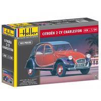 Heller 1/24 Citroen 2 CV Charleston