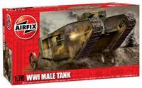 Airfix 1/76 WW1 Male Tank