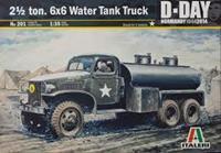 Italeri 1/35 2 1/2 Ton 6x6 Water Tank Truck (D-Day)