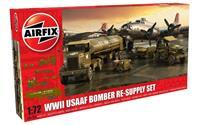 Airfix 1/72 WWII USAAF 8th Air Force Bomber Resupply Set