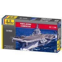 Heller 1/400 Aircraft Carrier Clemenceau