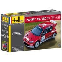 Heller 1/43 Peugeot 206 WRC 03