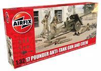 Airfix 1/32 17 Pounder Anti-Tank Gun And Crew