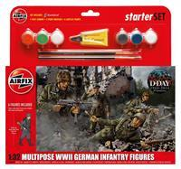 Airfix 1/32 Multipose WWll German Infantry Figures