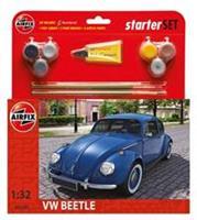 Airfix 1/32 VW Beetle Starter Set