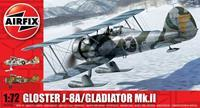 Airfix 1/72 Gloster J-8a/Gladiator Mk.ll