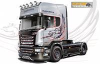 Italeri 1/24 Scania R730 V8 Streamline Silver Friffin