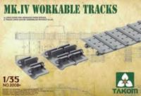 Takom 1/35 Mark lV Workable Tracks