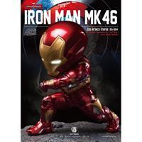 Beast Kingdom Captain America Civil War Egg Attack Statue Iron Man Mark XLVI 20 cm