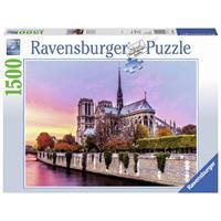 Ravensburger puzzel 1500 stukjes Pitoreske Notre Dame