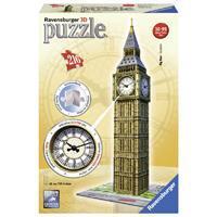 Ravensburger 3D puzzel Big Ben MET KLOK 216 stukjes
