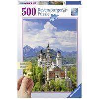 Ravensburger Puzzel Neuschwanstein 500 Stukjes
