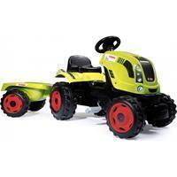 smoby Claas Farmer XL tractor met trailer