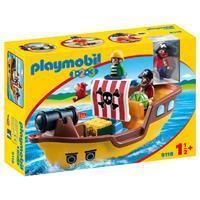 Playmobil1.2.3 1.2.3 - 1.2.3 Piratenschip 9118