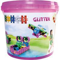 Clics glitter bucket 8-in-1 175 stuks