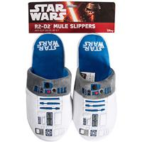 Fizzcreations Star Wars: R2D2 Slip-on Slippers - Large
