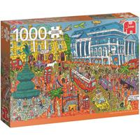 Jumbo Sightseeing Piccadilly Circus, London puzzel